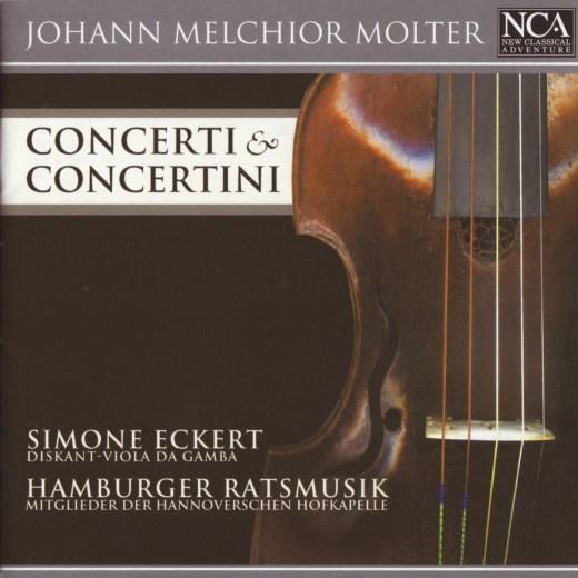 آلبوم Molter - Concerti & Concertini اثر Simone Eckert