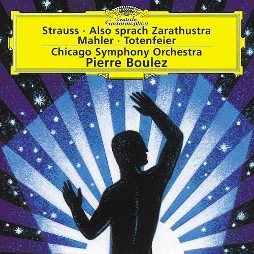 آلبوم Richard Strauss: Also sprach Zarathustra; Gustav Mahler: Totenfeier  اثر Richard Strauss