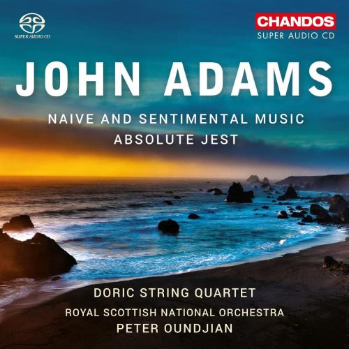 آلبوم John Adams: Naive and Sentimental Music; Absolute Jest اثر Doric String Quartet