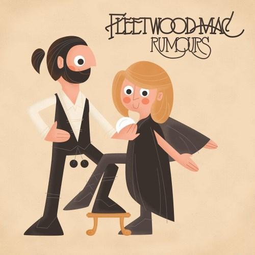 دانلود آلبوم موسیقی Fleetwood-Mac-Rumours