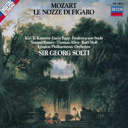 آلبوم Le Nozze Di Figaro اثر Wolfgang Amadeus Mozart