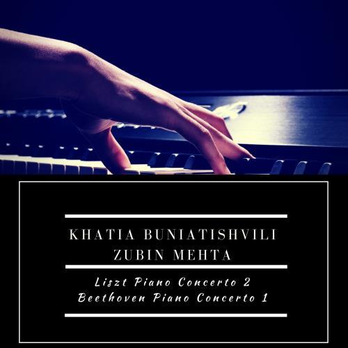 آلبوم Liszt Piano Concerto 2; Beethoven Piano Concerto 1 اثر Khatia Buniatishvili