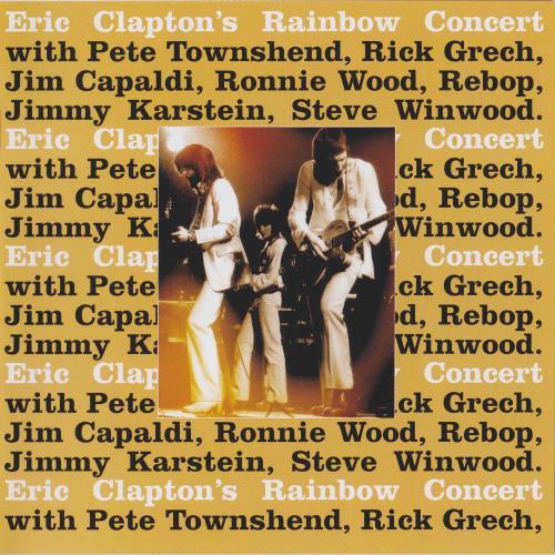 آلبوم Eric Clapton's Rainbow Concert اثر Eric Clapton