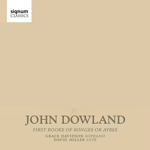 آلبوم John Dowland: First Booke of Songes or Ayres اثر David Miller