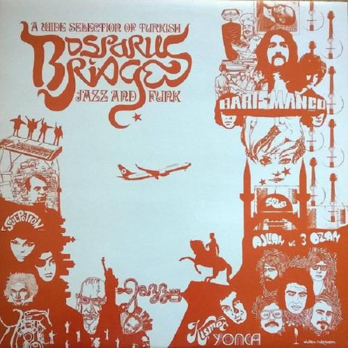 آلبوم Bosporus Bridges, A Wide Selection of Turkish Jazz and Funk 1969-1978 اثر Various Artists