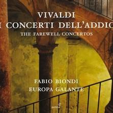 آلبوم Vivaldi: I Concerti Dell'addio اثر Fabio Biondi