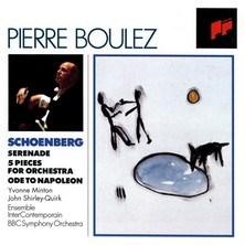 دانلود آلبوم موسیقی Schoenberg: Serenade; 5 Pieces For Orchestra; Ode to Napoleon